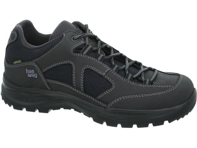 Hanwag Gritstone II Wide GTX Schuhe Herren asphalt/black